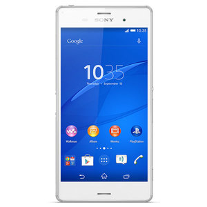 "Telefon SONY Xperia Z3, 5.2"", 20.7MP, 3GB RAM, microSD, 4G, Wi-Fi, Bluetooth, White"