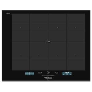 Plita incorporabila WHIRLPOOL SMP 658 C BT IXL, inductie, 8 zone de gatit, negru