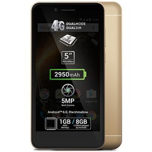 Telefon ALLVIEW P6 Energy Mini 8GB DUAL SIM Gold