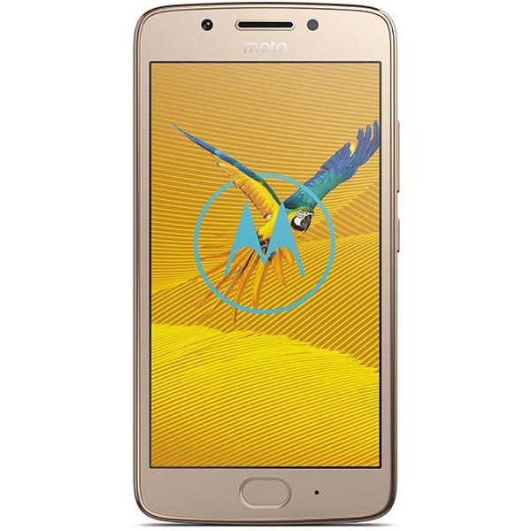 Telefon MOTOROLA G5, 16GB, 2GB RAM, dual sim, Gold