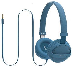 Casti PROMATE Sonic, Cu Fir, On-Ear, albastru