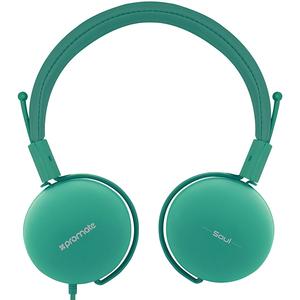 Casti PROMATE Soul, Cu Fir, Over-Ear, verde