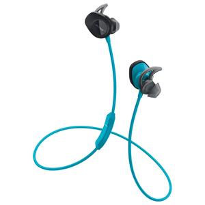 Casti BOSE SoundSport Wireless 761529-0020, microfon, in ear, wireless, albastru
