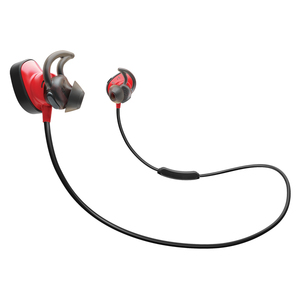 Casti BOSE SoundSport Wireless Pulse 762518-0010, Bluetooth, NFC, In-Ear, Microfon, rosu