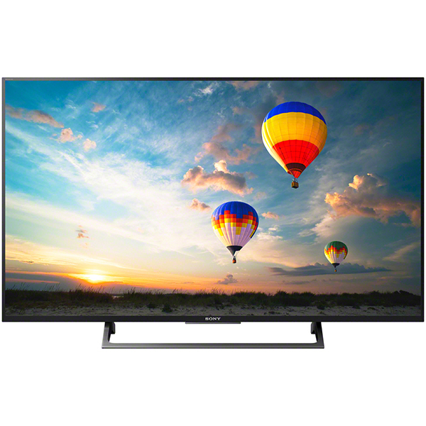Televizor LED Smart Ultra HD, 109cm, Android, 4K HDR, Sony BRAVIA KD-43XE8005B, Negru
