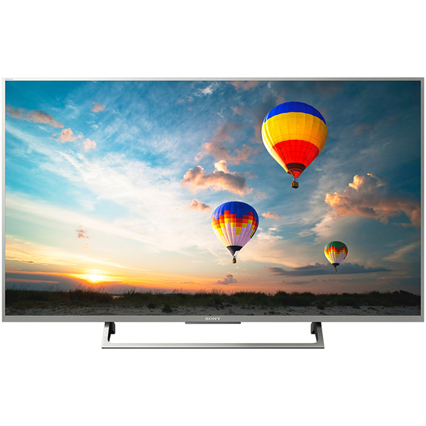 Televizor LED Smart Ultra HD, 124cm, Android, 4K HDR, Sony BRAVIA KD-49XE8077S, Argintiu