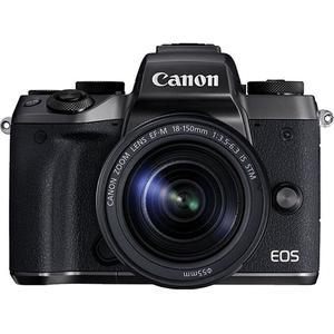 Camera foto mirrorless CANON EOS M5+ Obiectiv EF-M 18-150, 24mp, 3.2 inch, Wi-fi, NFC