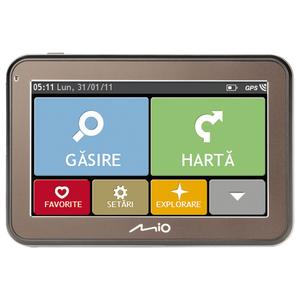 """Sistem de navigatie GPS MIO Spirit 5100BS, fara harta, 4.3"""", microSD"""