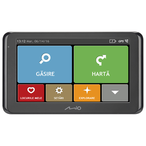 Sistem de navigatie GPS MIO Spirit 8500 LM, 6.2'', SmartRoutes, LearnMe Pro, Asistenta la parcare