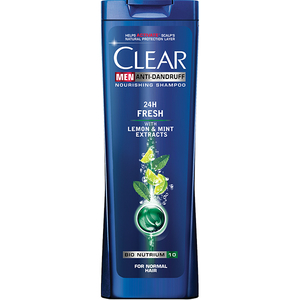 Sampon Clear Men 24H Fresh, 400ml