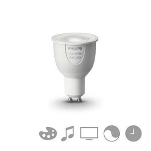 Bec spot LED PHILIPS Hue, 6.5W, GU10, Wi-Fi, RGB