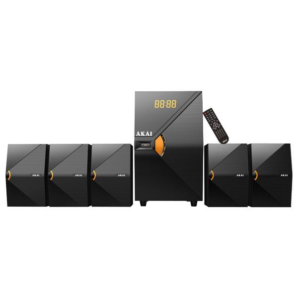 Boxe AKAI SS030A-5518, 5.1, 70W, Bluetooth, negru