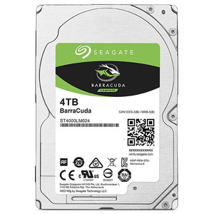 Hard Disk laptop SEAGATE BarraCuda Guardian 4TB, 5400RPM, SATA3, 128MB, ST4000LM024