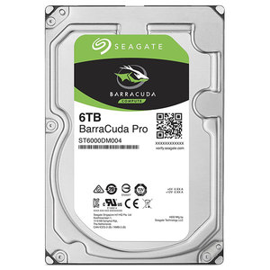 Hard Disk desktop SEAGATE BarraCuda PRO 6TB, 7200RPM, SATA3, 128MB, ST6000DM004
