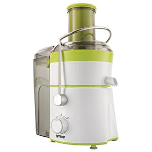 Storcator fructe si legume GORENJE JC801G, 1.5 l, 800W, 2 trepte putere, alb - verde