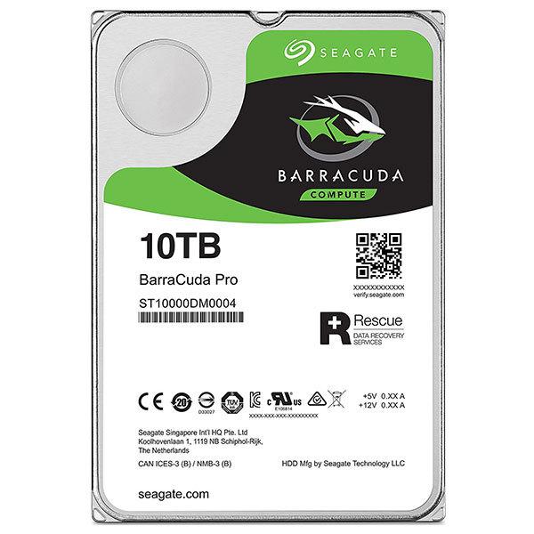Hard Disk desktop Seagate BarraCuda PRO 10TB, 7200RPM, SATA3, 256MB, ST10000DM0004