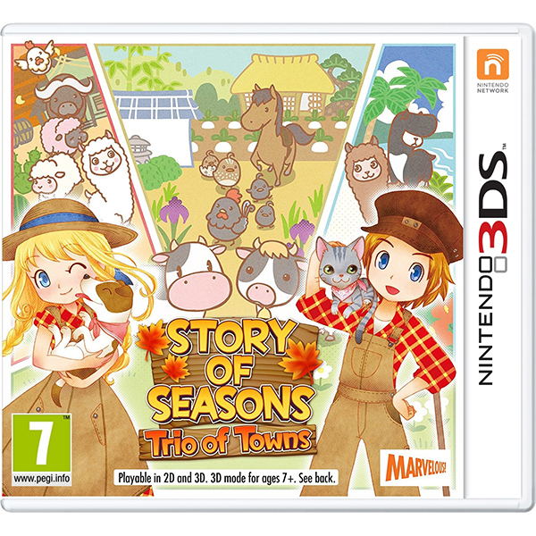 Story of Seasons: Trio of Towns 3DS