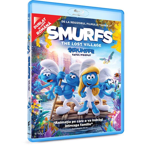 Strumpfii: Satul pierdut Blu-ray