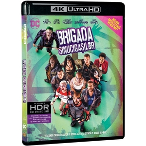 Brigada sinucigasilor Blu-ray 4K