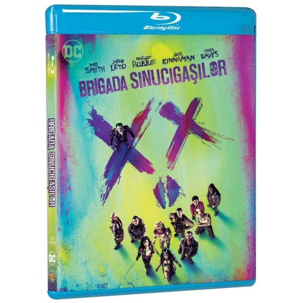 Brigada sinucigasilor Blu-ray