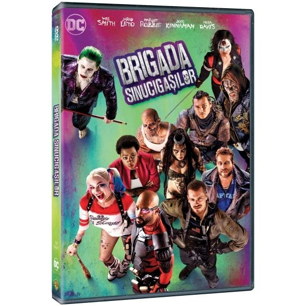 Brigada sinucigasilor DVD