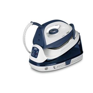 Statie de calcat TEFAL Fasteo SV6040E0, 1.2l, 180g/min, 2200W, talpa ceramica, alb - albastru