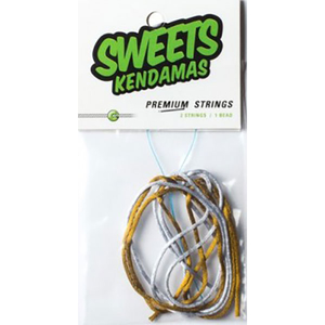 Sweets Kendama: Premium String Pack Gold/Silver
