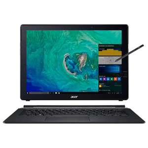 "Laptop ACER Switch 7 SW713-51GNP,  Intel® Core™ i7-8550U pana la 4.0GHz, 13.5"" QHD Touch, 16GB, SSD 512GB, NVIDIA GeForce MX150 2GB, Windows 10 Pro"