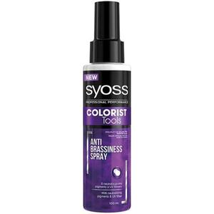 Spray tratament pentru par Syoss Colorist Tools, anti - ingalbenire, 100ml