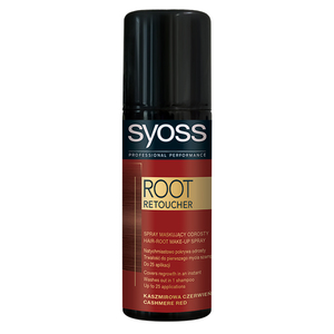 Vopsea de par SYOSS Root Retoucher, Cashmire Red, 120ml