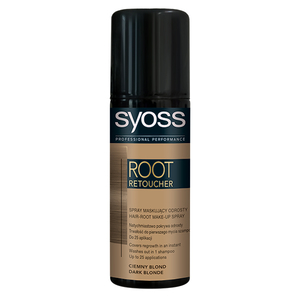 Vopsea de par SYOSS Root Retoucher, Dark Blond, 120ml