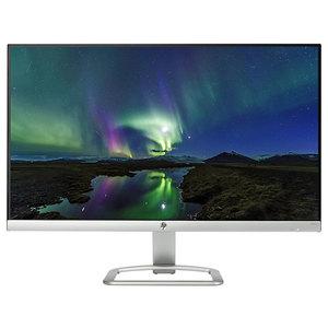 "Monitor LED IPS HP 24es, 23.8"", Full HD, argintiu-negru"