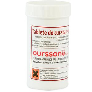 Tablete de curatare reziduuri cafea OURSSON 7096, 25 tablete