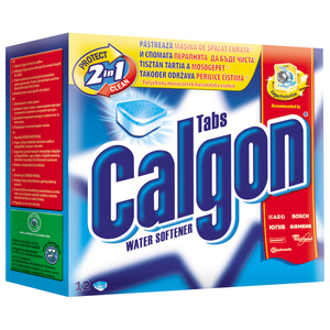 Tablete anticalcar CALGON 12 bucati pentru masina de spalat