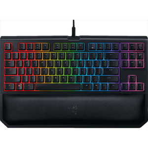 Tastatura Gaming mecanica RAZER BlackWidow Tournament Edition Chroma V2, Orange Switch, USB, Layout US INT, negru