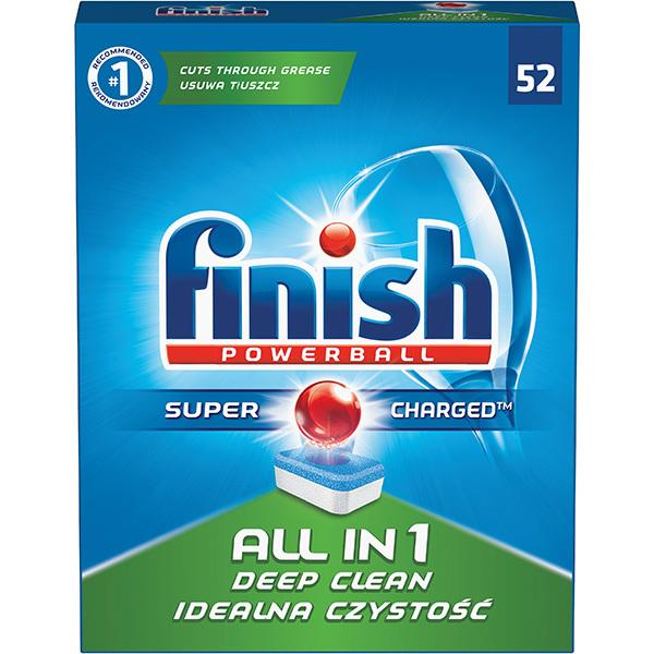 Detergent vase FINISH All in One 52 tablete pentru masina de spalat vase