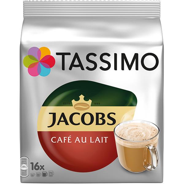 TASSIMO Jacobs Cafe Au Lait 4031535