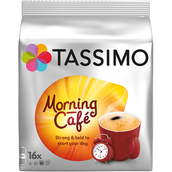 TASSIMO Morning Cafe, 16 capsule, 124.8g