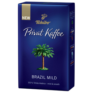 Cafea macinata Privat Kaffee Brazil Mild 250g, 100% Arabica