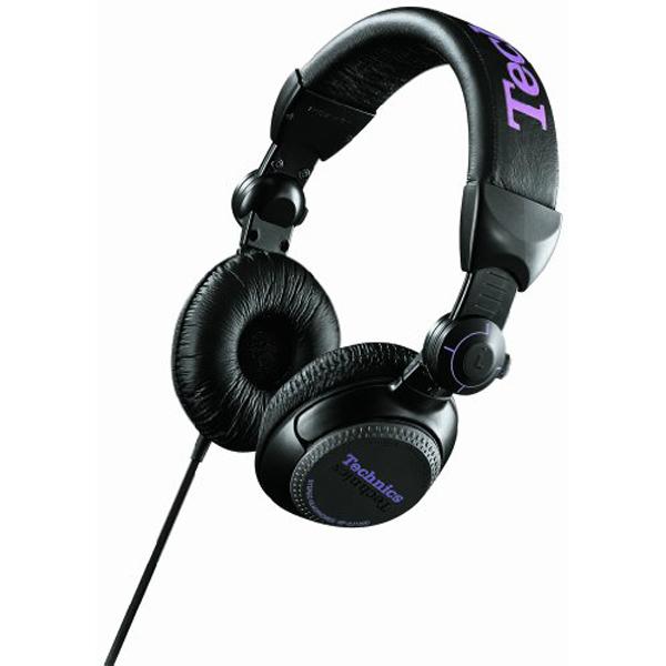 Casti TECHNICS RP-DJ1200E-K, Cu Fir, On-Ear, negru-argintiu