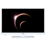 Televizor LED High Definition, 61 cm, TELETECH 24272W, alb