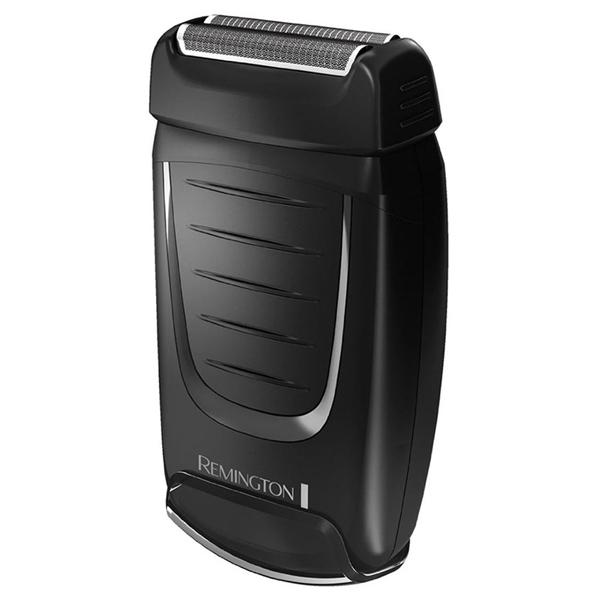 Aparat de ras pentru voiaj REMINGTON Dual Foil TF70, baterii, negru