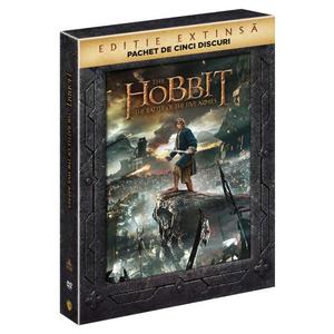 Hobbitul - Batalia celor cinci ostiri - versiune extinsa DVD