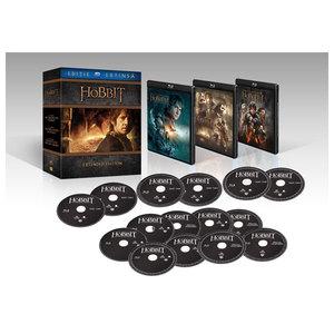 Hobbitul - Trilogia Editie extinsa  Blu-ray