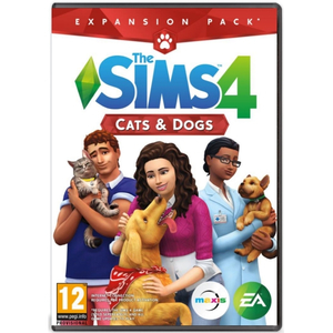 The Sims 4 Cats & Dogs PC (Expansion Pack 4 necesita jocul The Sims 4)