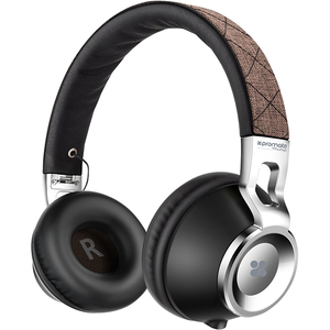 Casti PROMATE Thump, Cu Fir, Over-Ear, maro