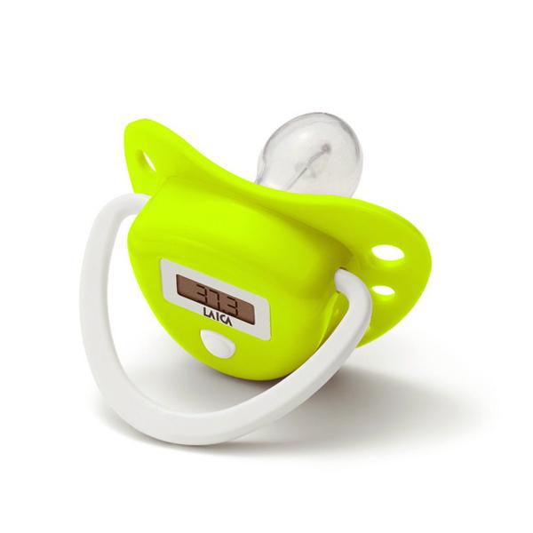 Termometru digital tip suzeta LAICA Bodyform TH3002, alb - verde