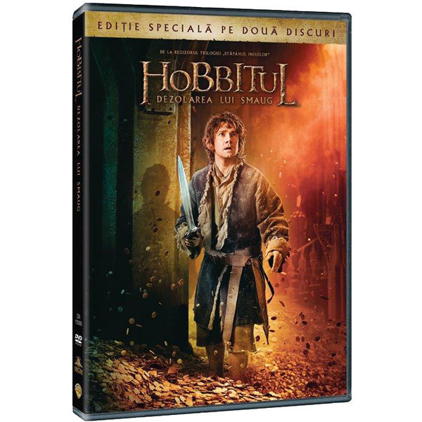 Hobbitul - Dezolarea lui Smaug DVD