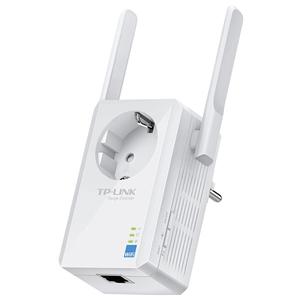 Wireless Range Extender TP-LINK TL-WA860RE, 300 Mbps, alb