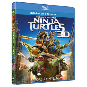 Teenage Mutant Ninja Turtles Blu-ray 3D + 2D